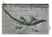 Giant Lizard On A Wall Carry-all Pouch