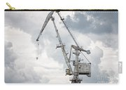 Giant Old Crane Against Dark Sky Carry-all Pouch