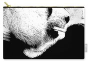 Giant Panda With Script #3 Carry-all Pouch