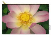Giant Pink Lotus Carry-all Pouch