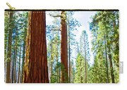 Giant Sequoias In Mariposa Grove In Yosemite National Park-california Carry-all Pouch