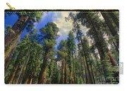 giant sequoias sequoiadendron gigantium yosemite NP Carry-all Pouch