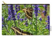 Giant Swallowtail Butterfly Couple Carry-all Pouch