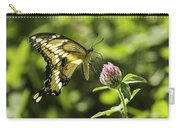 Giant Swallowtail On Clover 2 Carry-all Pouch