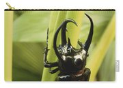 Giant Three-horned Beetle Carry-all Pouch