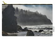 Giants In The Fog Carry-all Pouch by Adam Jewell