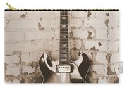 Gibson In Sepia Carry-all Pouch