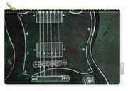 Gibson Sg Standard Green Grunge With Skull Carry-all Pouch