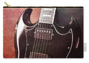 Gibson Sg Standard Red Grunge Carry-all Pouch