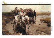 Giddy Up Carry-all Pouch by Alfred von Wierusz-Kowalski