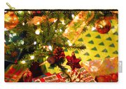 Gifts Under Christmas Tree Carry-all Pouch by Elena Elisseeva