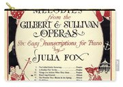 Gilbert And Sullivan Operas Carry-all Pouch