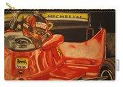 Gilles Villeneuve At Monaco 1980 Carry-all Pouch