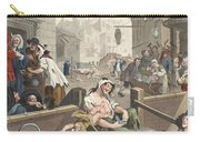 Gin Lane, Illustration From Hogarth Carry-all Pouch