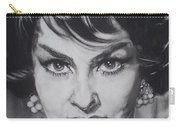 Gina Lollobrigida Carry-all Pouch