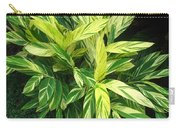 Ginger Lily. Alpinia Zerumbet Carry-all Pouch