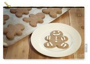 Gingerbread Cookies Carry-all Pouch by Juli Scalzi
