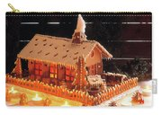 Gingerbread House, Traditional Carry-all Pouch