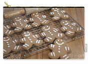 Gingerbread Man Cookies Carry-all Pouch