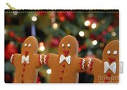 Gingerbread Men In A Line Carry-all Pouch