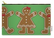 Gingerbread People Carry-all Pouch