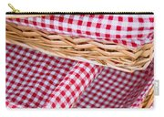 Gingham Baskets Carry-all Pouch