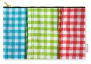 Gingham Carry-all Pouch