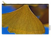 Gingko Leaf Losing Chlorophyll Carry-all Pouch