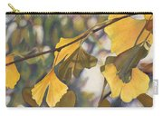 Ginkgo Gold Carry-all Pouch