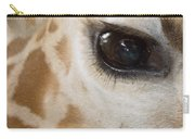 Giraffe Eye Carry-all Pouch