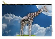 Giraffe Flying High Carry-all Pouch