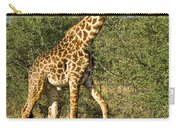 Giraffe From Tanzania Carry-all Pouch