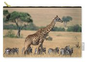 Giraffe Giraffa Camelopardalis Carry-all Pouch