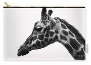Giraffe Head Shot Carry-all Pouch