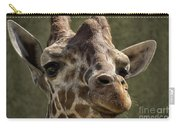 Giraffe Hey Are You Looking At Me Carry-all Pouch