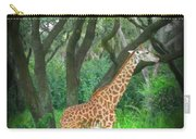Giraffe In Florida Carry-all Pouch