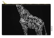 Giraffe Is The Word Carry-all Pouch