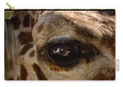 Giraffe Look Into My Eye Carry-all Pouch