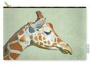 Giraffe Mug Shot Carry-all Pouch