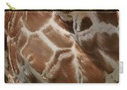 Giraffe Patterns Carry-all Pouch