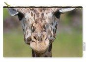 Giraffe Peek A Boo Poster Carry-all Pouch