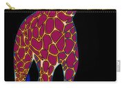 Giraffe Pop Art Carry-all Pouch
