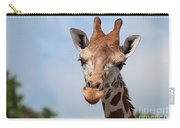Giraffe Portrait Carry-all Pouch