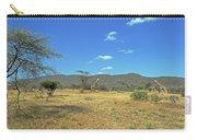 Giraffes In Samburu National Reserve Carry-all Pouch