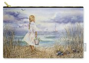Girl At The Ocean Carry-all Pouch