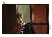 Girl At The Window Carry-all Pouch