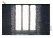 Girl In Chapel Carry-all Pouch by Joana Kruse