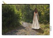 Girl In Country Lane Carry-all Pouch