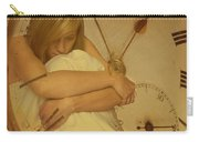 Girl In White Dress In Pocket Watch Carry-all Pouch