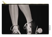 Girl Legs In Roller Skates Artistic Concept Carry-all Pouch